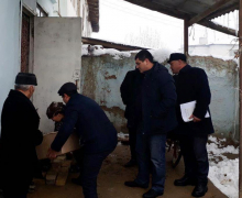 UzLiDeP and sponsors will repair the house of J. Sulaimonov from the village of Manas
