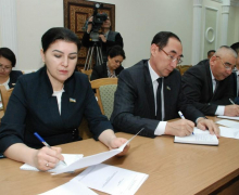 Faction of UzLiDeP discussed a number of bills