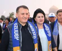 UzLiDeP leader A.Khaitov meets with Andijan voters