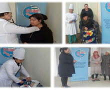 Free medical examination passed 64 people from Chartak