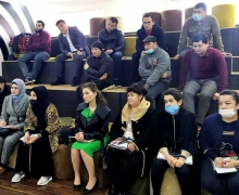 The second phase of the 48-hour training course for unemployed youth in Tashkent