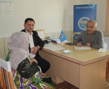 Deputies organized an off-site reception and medical examination of the population in Peshku