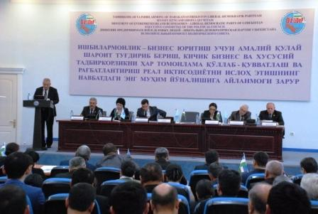 NEXT MEETING OF THE POLITICAL COUNCIL OF UZLIDEP WAS HELD IN TASHKENT