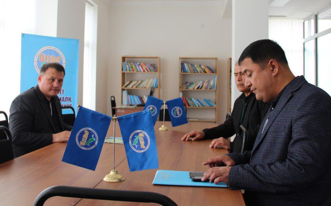 UzLiDeP's Head got acquainted with activities of Surkhandarya Regional Council of the party