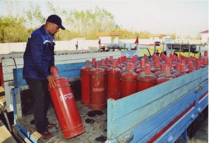 "Cylinders for liquefied gas were brought after the intervention of a deputy in ""Yukori Shovot"""