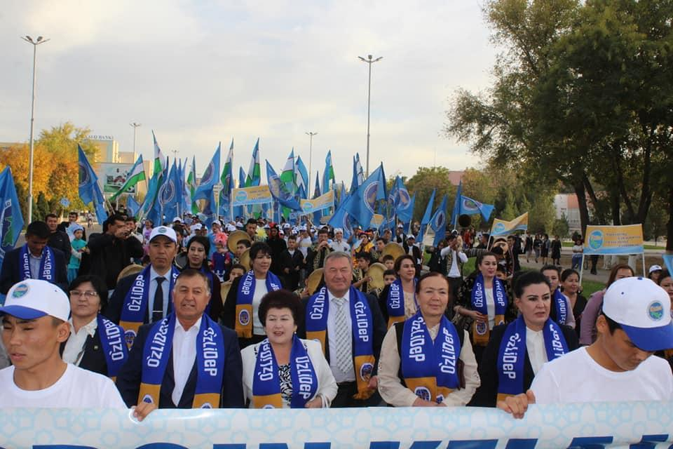 UzLiDeP calls on voters to be active
