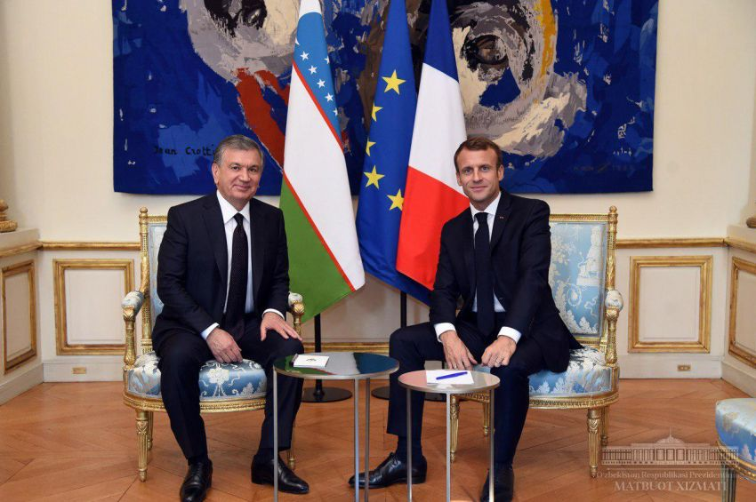 Uzbekistan – France: towards expanding and strengthening long-term mutually beneficial partnership